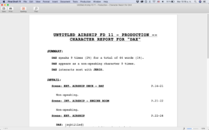 Character Report Final Draft 11