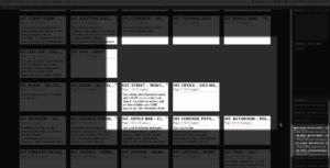 Fade In organize in folders
