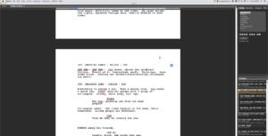 Fade In scene folder