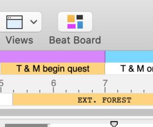 Final Draft 12 Beat Board - Beat Board Button