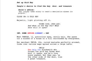 Final Draft 12 - Script Compare Result
