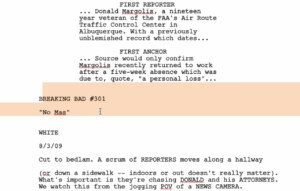 Final Draft 12 pdf import
