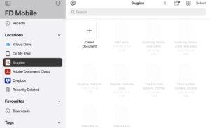 Final Draft Mobile Slugline Documents