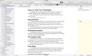 John Truby Scrivener Template Preview