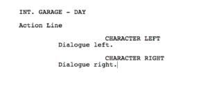 Movie Magic Screenwriter - normal dialogue