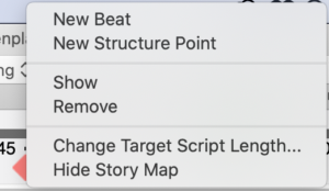 Story Map Right Click Beat