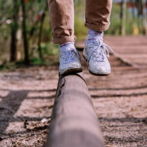 how to maintain balance instead of falling off again