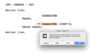Movie Magic Screenwriter - SmartCheck