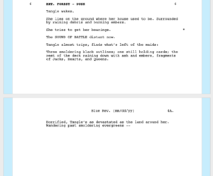 Production Rewrites Cycle - Page 4A