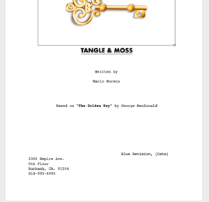Production Rewrites Cycle - Title Page