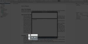Scrivener Add Scratchpad Note