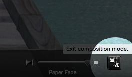 Scrivener Composition Mode back to interface