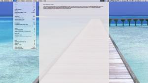 Scrivener Composition Mode menu bar