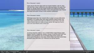 Scrivener Composition Mode multiple documents scrivening