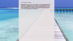 Scrivener Composition Mode one document