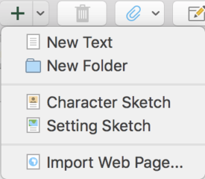 Scrivener Create New Document From Template