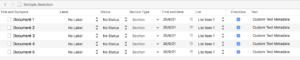 Scrivener Custom Metadata Columns