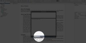 Scrivener Export Scratchpad Note